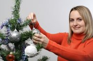 Should you put up a Christmas tree at work?