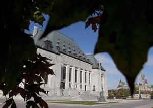 The Supreme Court of Canada is seen in Ottawa, Ont. October 2, 2012. THE CANADIAN PRESS/Adrian Wyld