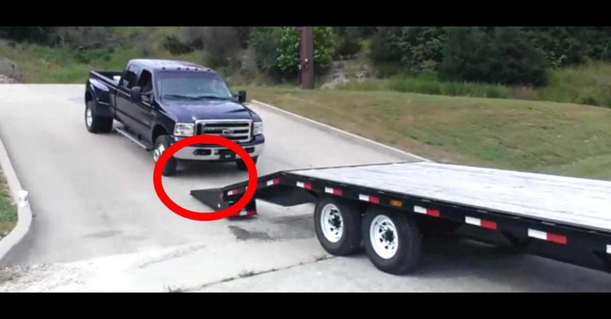 VIDEO: Loading Truck Goes Horribly Wrong!