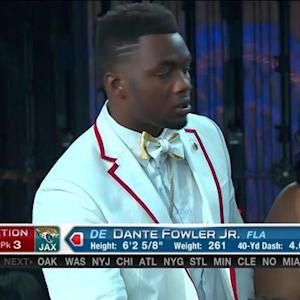 Jacksonville Jaguars pick defensive end Dante Fowler Jr. No. 3 in 2015 NFL Draft