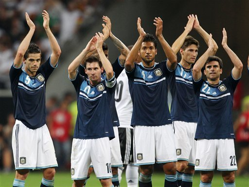 Argentina beats Germany 3-1 in exhibition