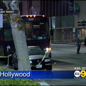 2 Suspects In Custody Following Deadly Shooting In Hollywood