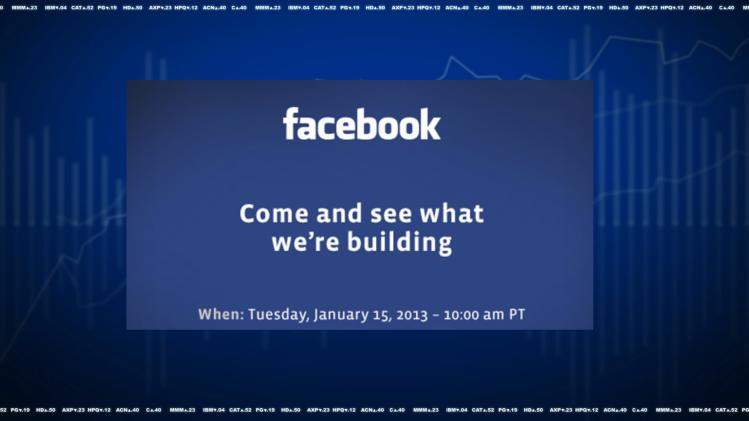 Facebook to Hold Mystery Media Event Tuesday