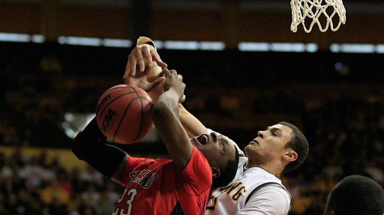 NCAA Basketball: Fresno State at Wyoming
