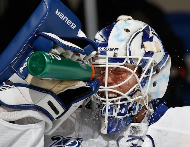 Anders Lindback Goes From Nashville Goalie Factory To Under Microscope In Tampa