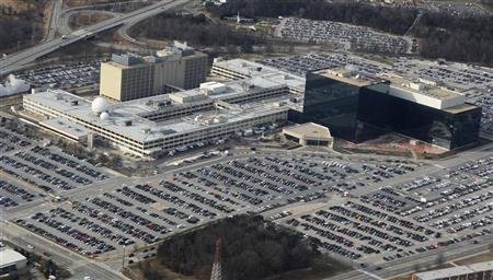 A view of the National Security Agency at Ft. Meade, Maryland