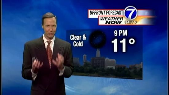 Bill's 5:30pm Forecast