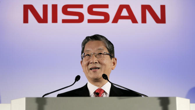 Nissan profit rises 8 percent, cuts forecasts