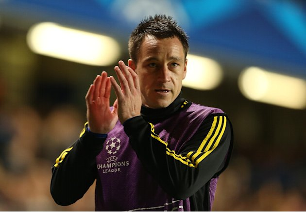 John Terry was left on the bench for Chelsea's match against Shakhtar Donetsk