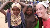 Amanda Lindhout visited refugee camps in Dadaab, Kenya, where most of the population is Somalis fleeing the famine in their country.