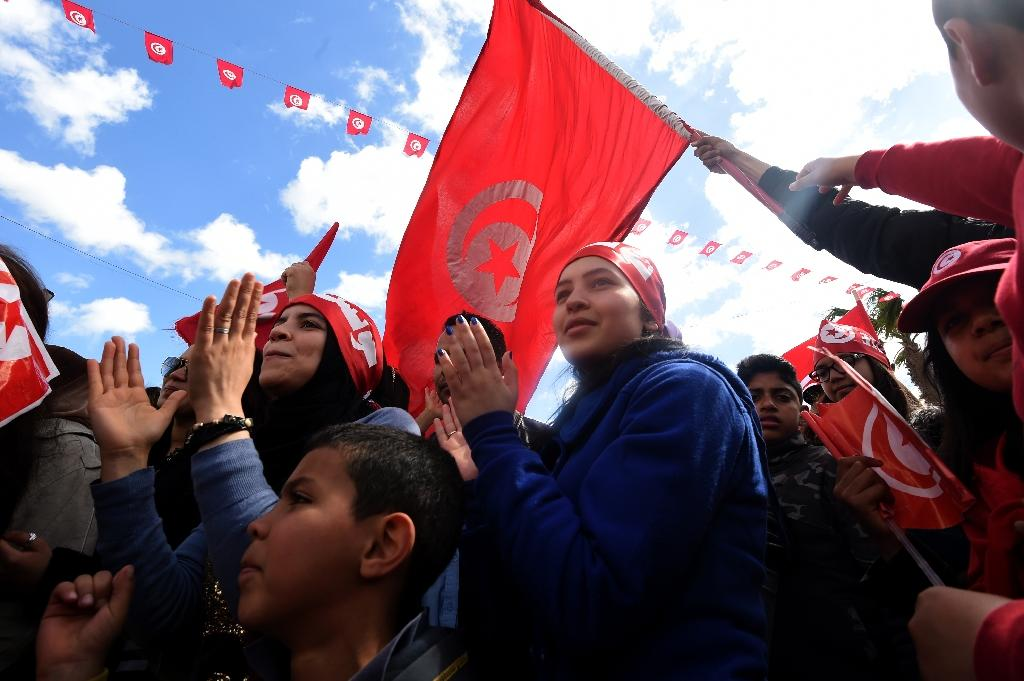 Jihadist chief killed as thousands march in Tunisia
