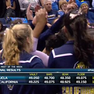 Recap: No. 21 Cal women's gymnastics gets historic win over No. 5 UCLA