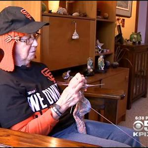 San Jose Cancer Patient's Knitted SF Giants 'Hair' Selfie Goes Viral