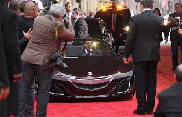 The car Robert Downey Jr drove