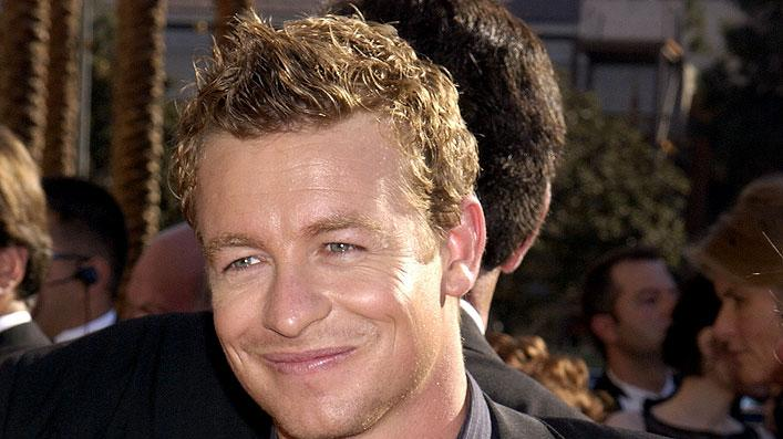 Simon Baker at The 54th Annual Primetime Emmy Awards.