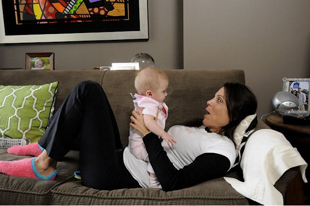 Bethenny Frankel with daughter, Bryn, in &quot;Bethenny Ever After.&quot; 