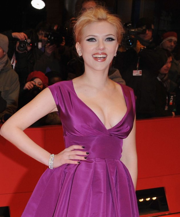 2. Actress Scarlett Johansson just missed out on the number one spot / Getty