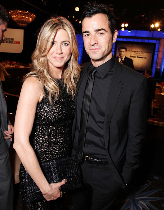 Jennifer Aniston. Justin Theroux
