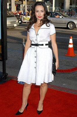 Ana de la Reguera at the Hollywood premiere of Paramount Pictures' Nacho Libre