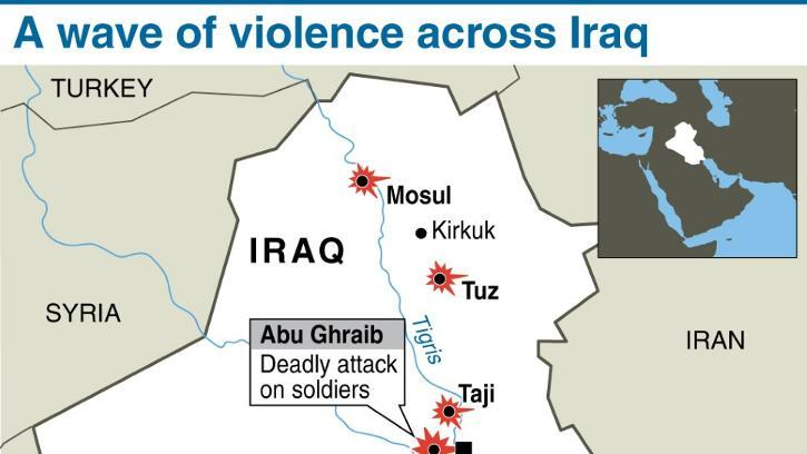 A wave of violence across Iraq