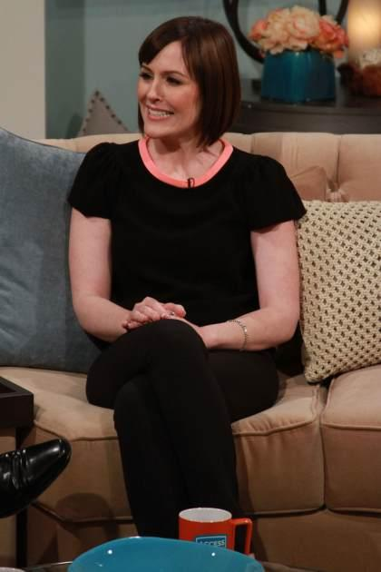 Rachael MacFarlane stops by Access Hollywood Live on February 25, 2013 -- Access Hollywood