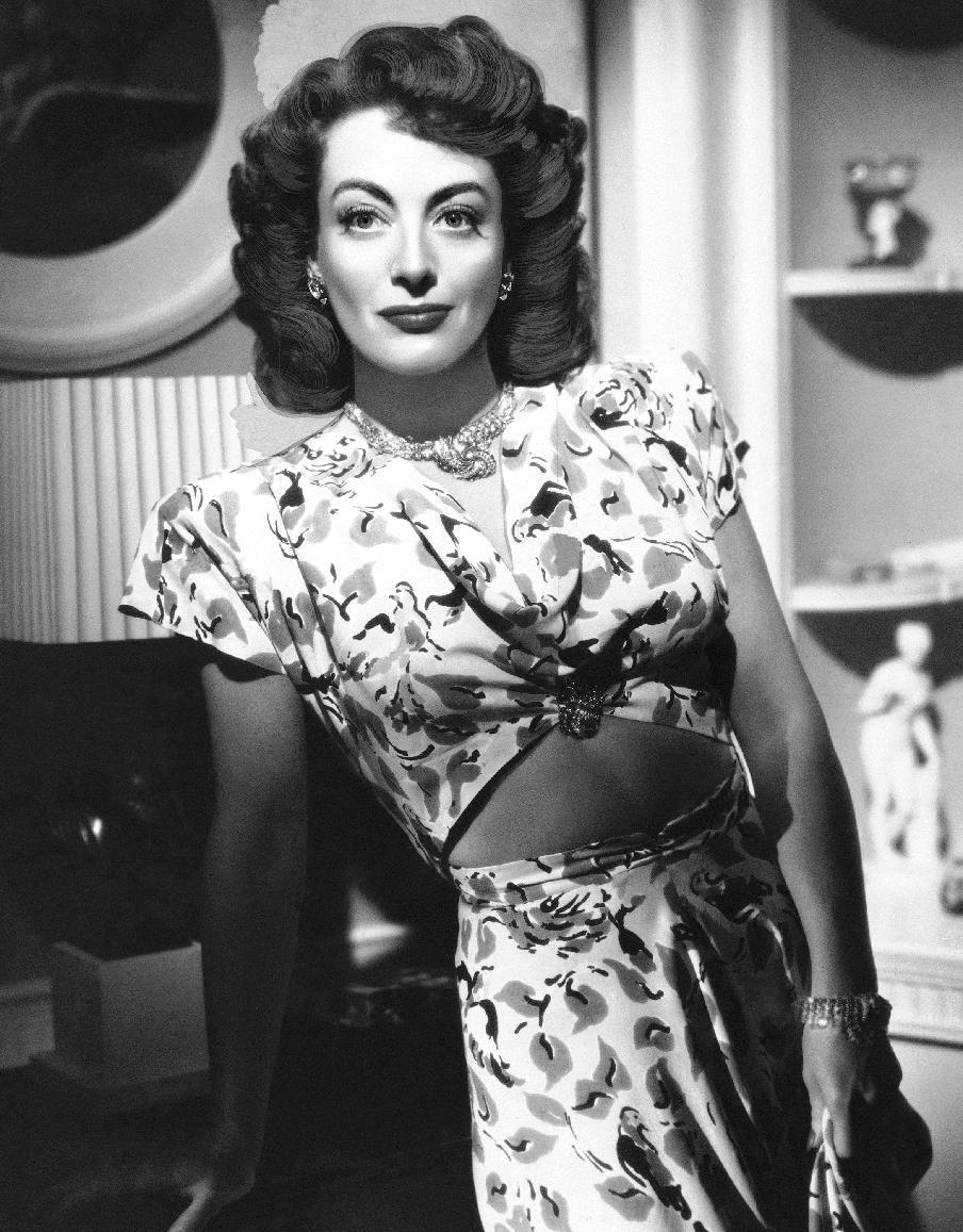 "In this August 10, 1946 file photo, actress, Joan Crawford, is seen as she appeared in ""Mildred Pierce."" (AP Photo, File)"