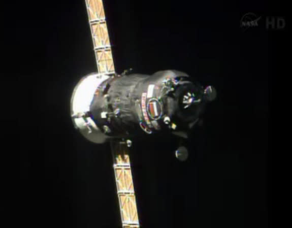 Russian Spacecraft Delivers Spacesuit Repair Kit to International Space Station