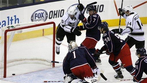 Richards, Quick lead Kings to 4-2 win over CBJ
