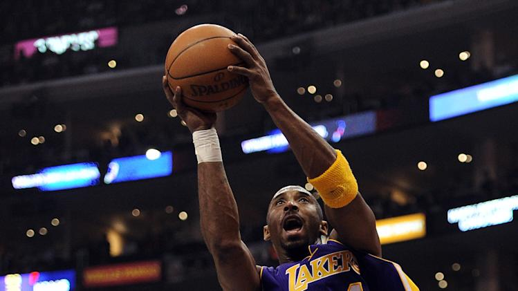 Kobe Bryant during the 2011-12 NBA regular season