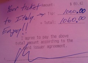 Receipt posted by Tumblr user (photo: casualcynic.tumbr.com)