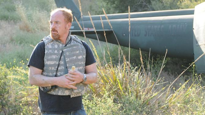 This undated image released by FX shows Louis C.K. in a scene from