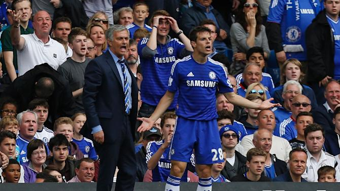 Jose Mourinho's Chelsea win the Premier League title for the first time in five years