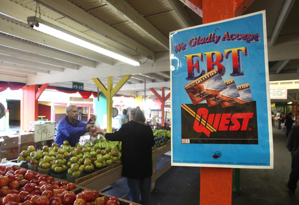 Food stamps again a vivid symbol in poverty debate
