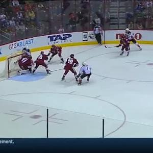 Mike Smith Save on Nate Thompson (06:25/1st)