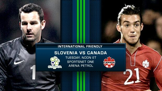Slovenia vs. Canada | International Friendly Preview