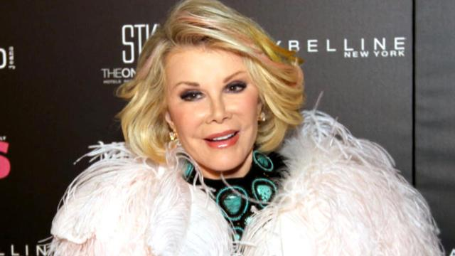 Joan Rivers in medically induced coma after surgery scare