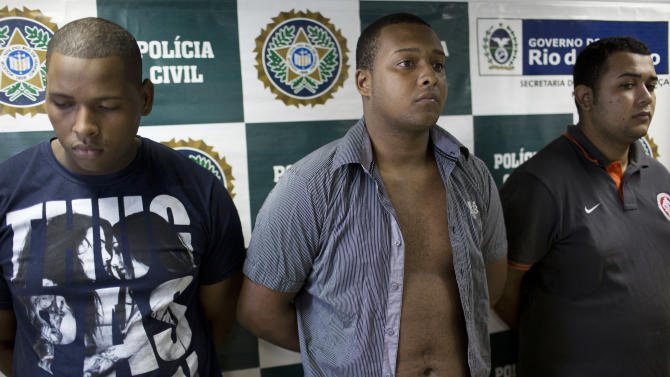 Brazil court convicts 3 for rape of American