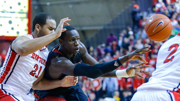 NCAA Basketball: Louisville at Rutgers