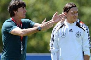 Low: Ozil could face Italy