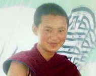 An undated photo released by FreeTibet on February 12 apparently of Tenzin Choedron, a member of a Buddhist nunnery in China's Sichuan province, which borders Tibet. The 18-year-old nun set herself on fire and later died, rights groups said, the latest in a spate of such incidents among ethnic Tibetans protesting Beijing's rule
