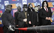 Members of the band Slipknot arrive at the 2008 MTV Video Music Awards in Los Angeles