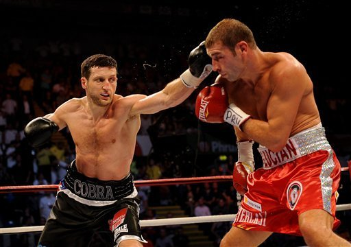 Froch stops Bute for IBF super-middleweight title