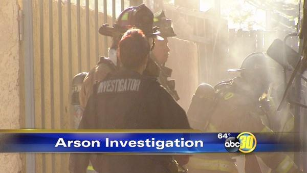 Fresno fire investigators are tracking a serial arsonist