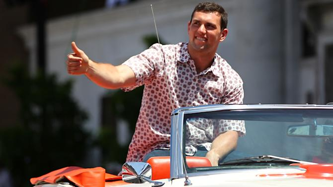 Indianapolis 500 Parade, Andrew Luck