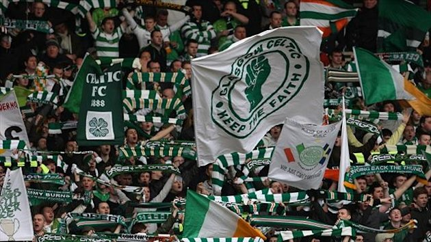 Celtic fans will be allowed to take flags into the ground as normal