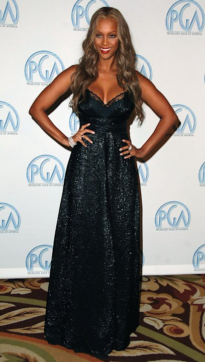 Tyra Banks at the 2007 Producers Guild Awards.