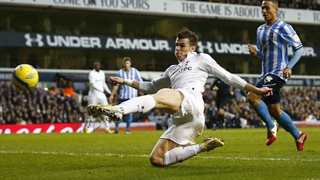 Gareth Bale scores for Tottenham against Coventry
