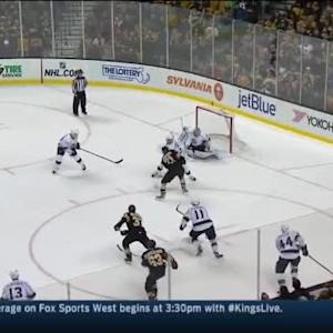Jonathan Quick Save on Loui Eriksson (19:43/1st)