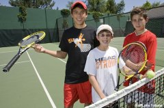 Utah tennis phenoms the Kempin brothers