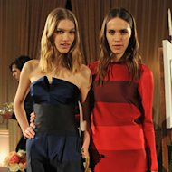 Stella McCartney previewed her latest collection for Autumn 2013 to the fash pack in New York last night